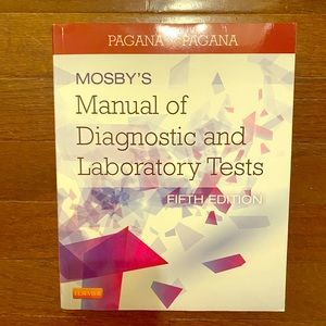 Other - Mosby's Manual of Diagnostic and Laboratory Test